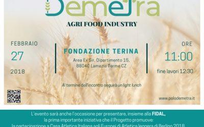 Presentazione del Progetto Demetra